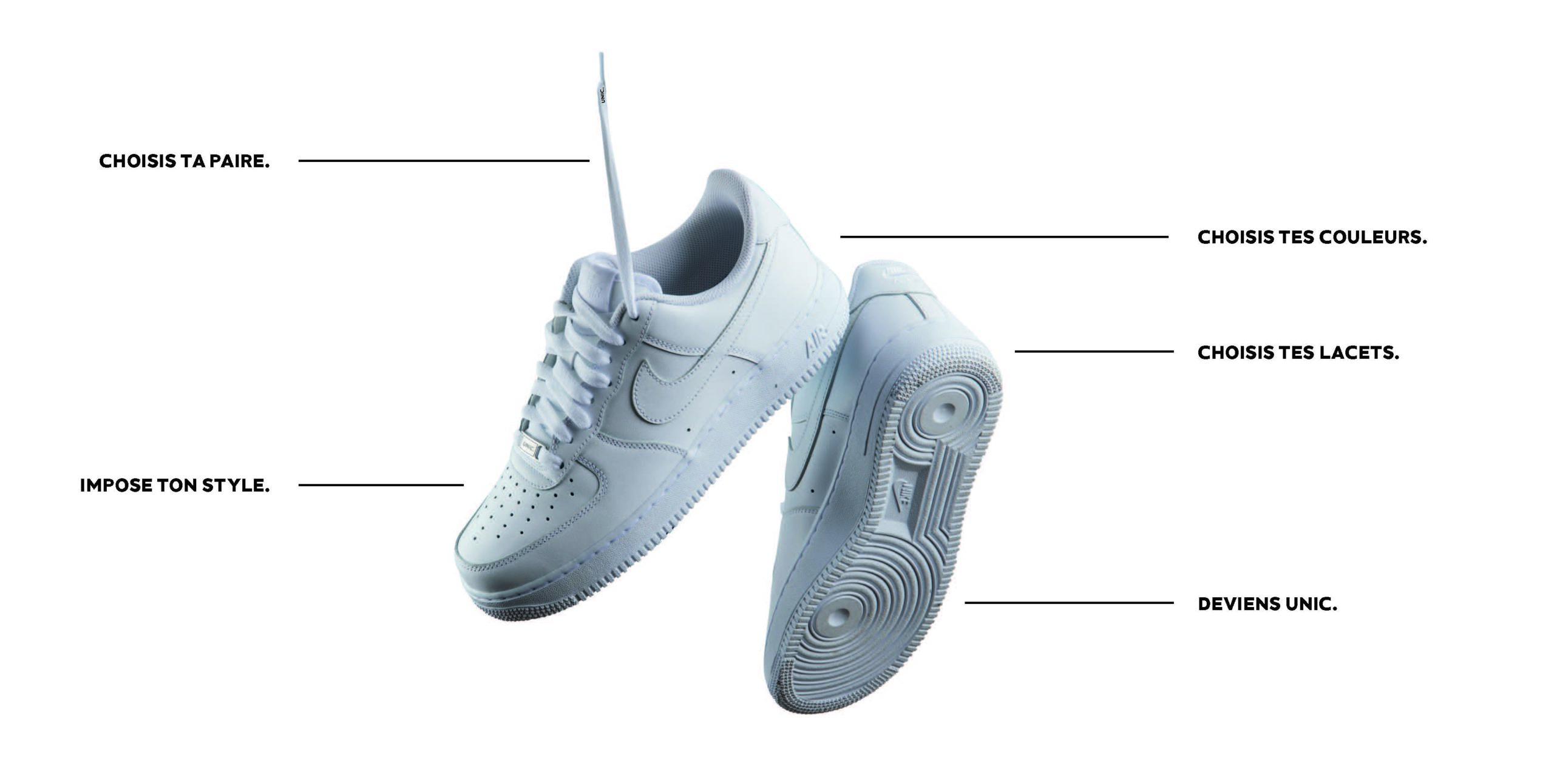 Modèle de sneakers