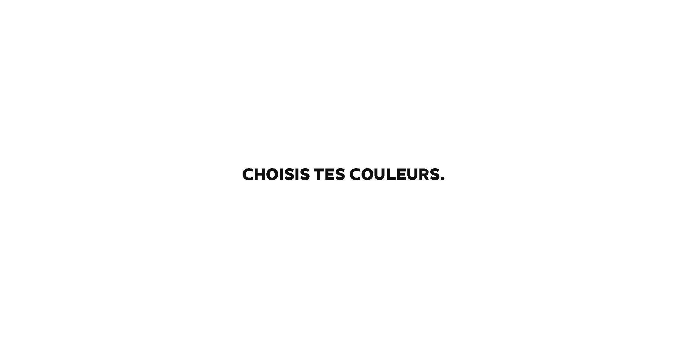 Choisis tes couleurs