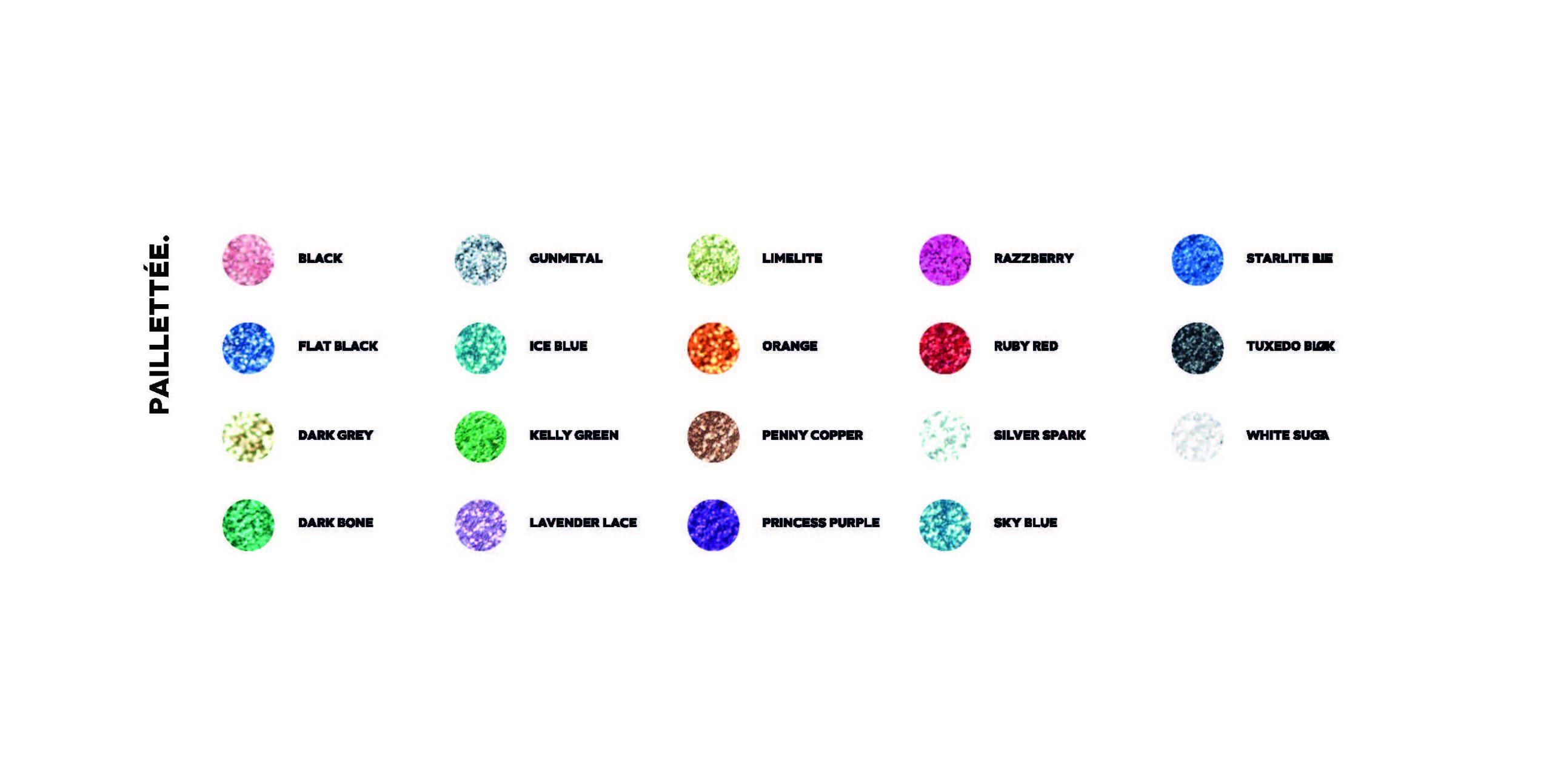 Catalogue de couleurs - 3