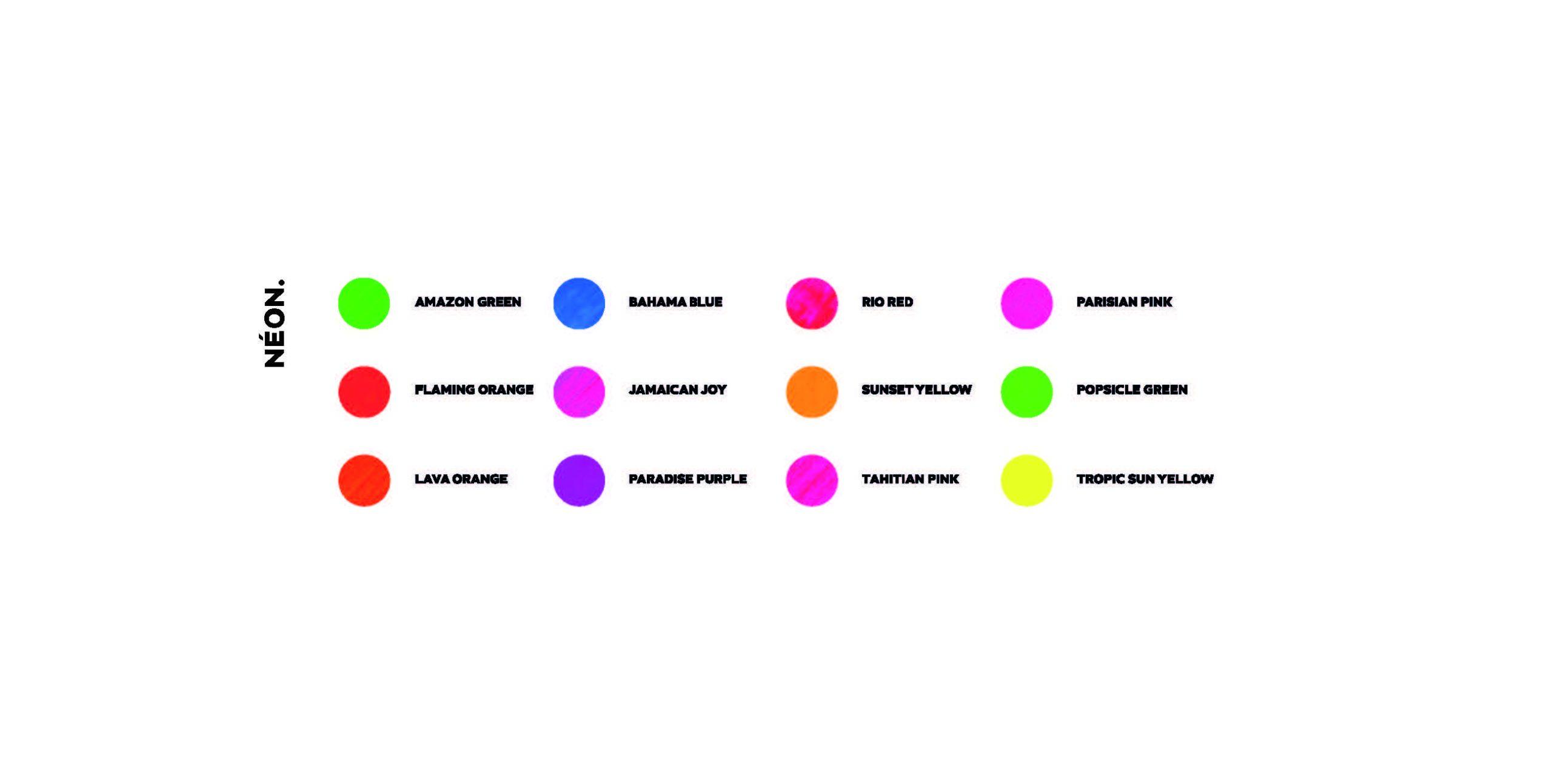 Catalogue de couleurs - 4