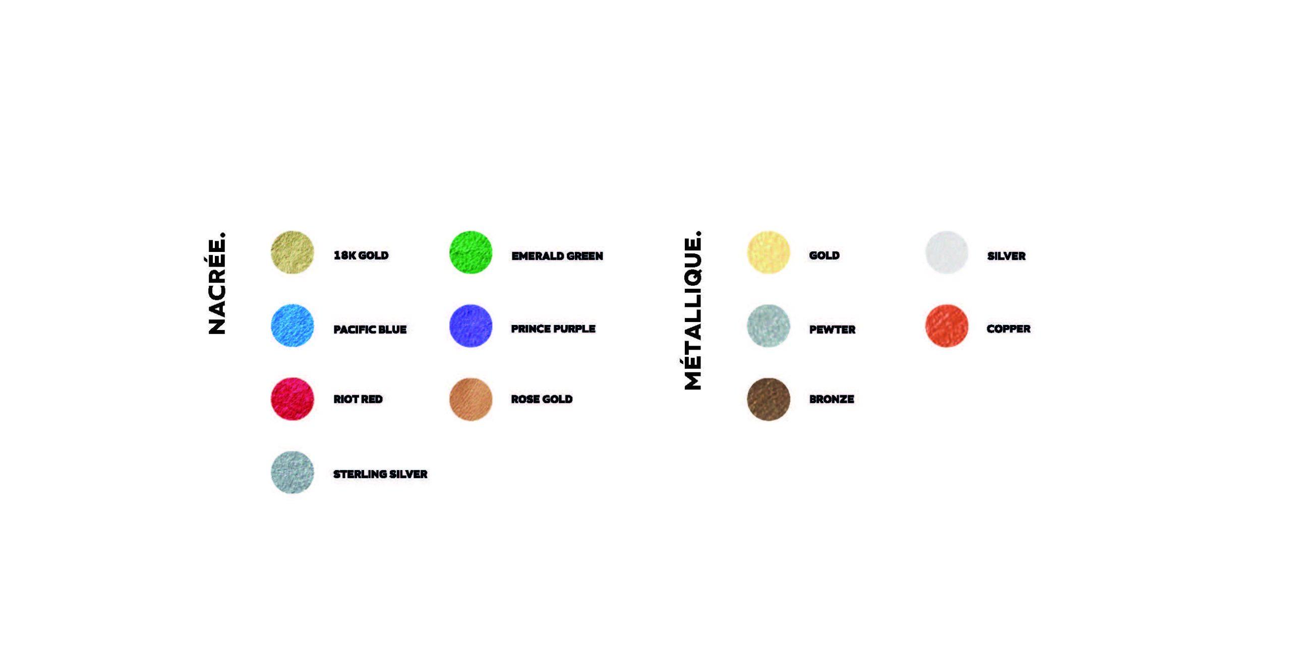 Catalogue de couleurs - 5