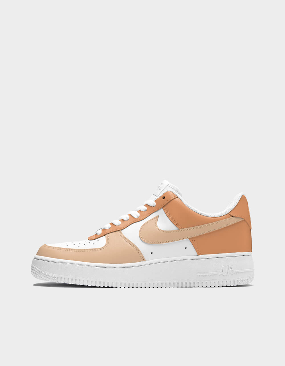 """Sneakers Air Force One, modèle """"Amberglow Sandstone"""""""