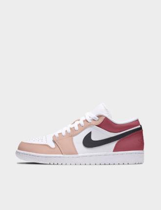 "Air Jordan 1 Low, modèle ""Peach Nougat"""