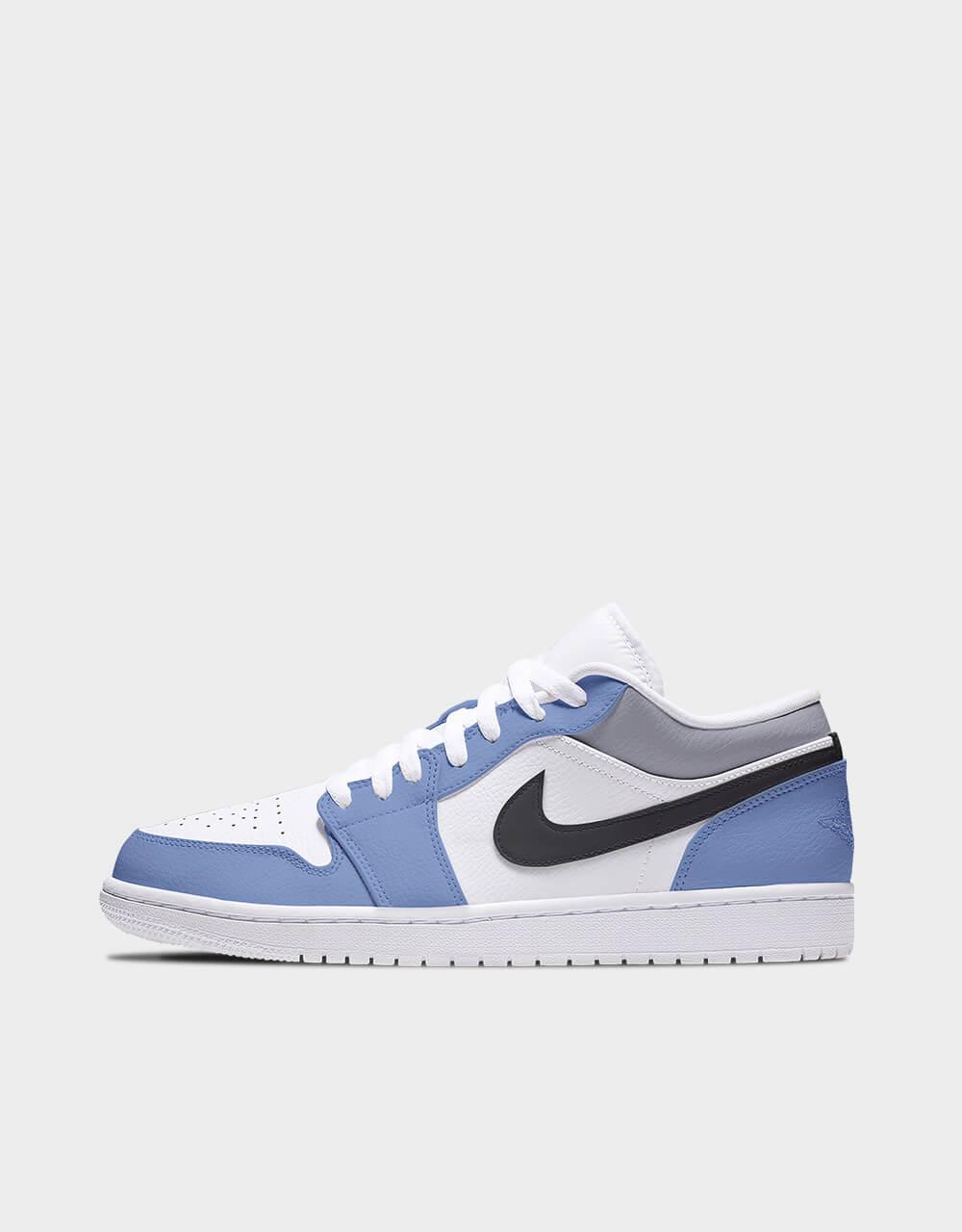 "Sneakers Air Jordan Low, modèle ""Sleet Ultramarine"""