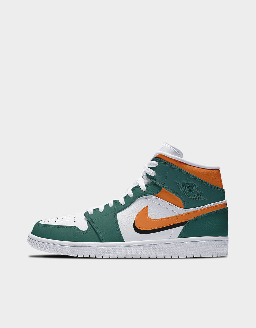 "Sneakers Air Jordan Mid, modèle ""Flash Orange"""
