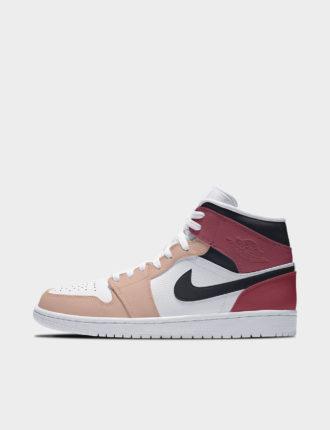 "Air Jordan 1 Mid, modèle ""Peach Nougat"""